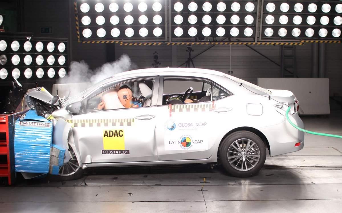 como avaliar as notas de carros no crash test