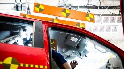 importância de escolher uma carro seguro 5 estrelas crash test