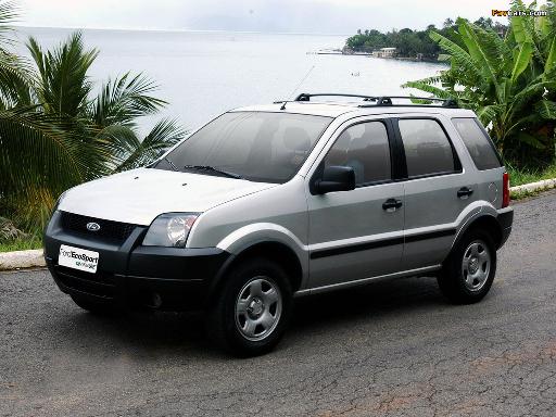 suv compacto lançamento ford ecosport 2003