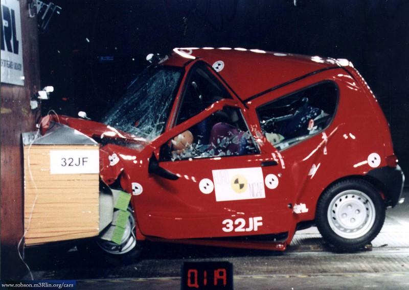10 piores crash tests já feitos