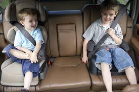 crianças no banco traseiro isofix segurança