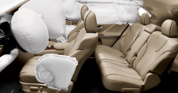 cinto de segurança airbag crash test como funcionam os airbags