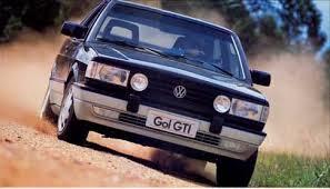 vw volkswagen gol gti 1988