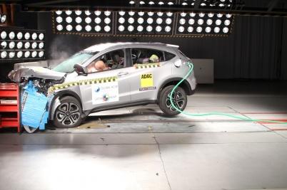 LatinNCAP Honda HR-V