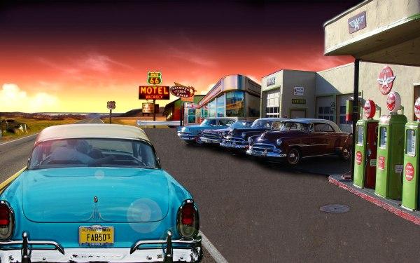 carros anos 50 propagandas memoráveis
