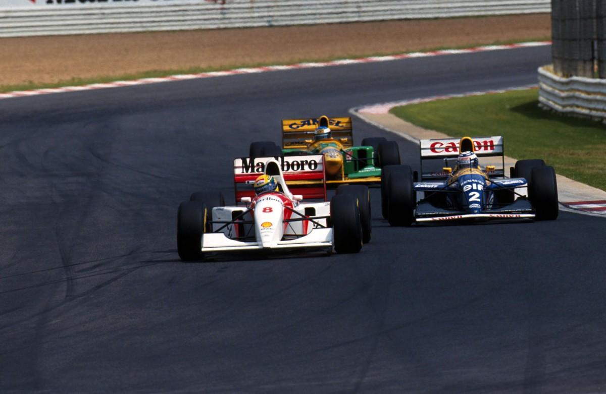 resumo da fórmula 1 1988-1993