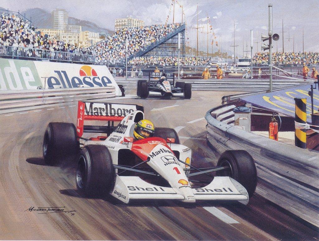senna pole position mônaco 1989