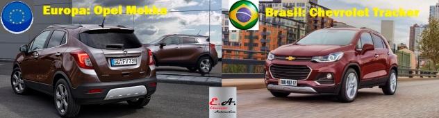 chevrolet tracker opel mokka educação automotiva