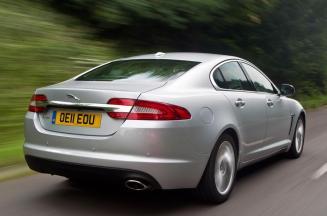 carros que farão você parecer rico R$ 50 a R$ 100 mil Jaguar XF