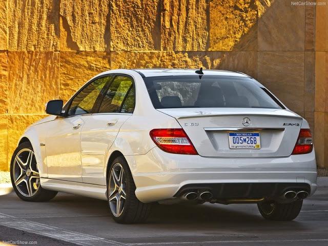 carros para parecer rico R$ 100 mil a R$ 150 mil Mercedes C63 AMG