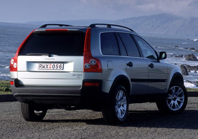 volvo xc90 2003 carros de luxo acessíveis até R$ 50 mil
