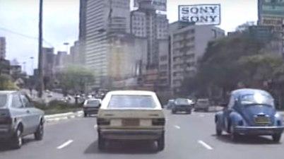 como era andar de carro nos anos 80 e 90