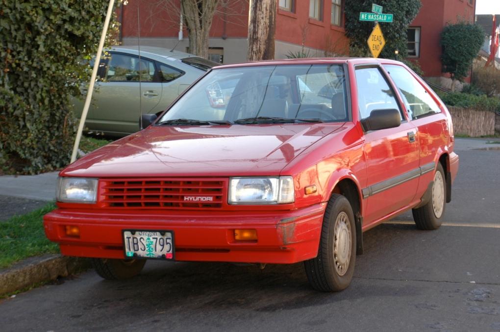 a receita de sucesso carros coreanos hyundai excel 1988