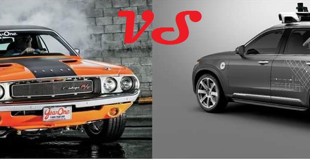 clássico ou futurista? muscle car V8 clássico SUV híbrido autônomo