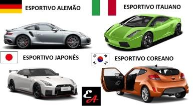 esportivo alemão italiano japonês coreano