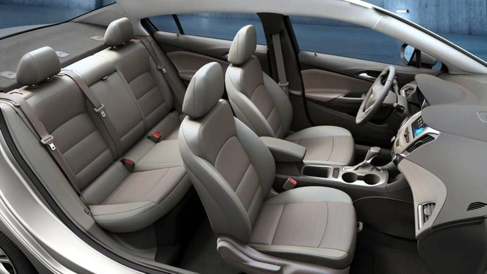 compra de carros entusiasta gearhead chevrolet cruze interior