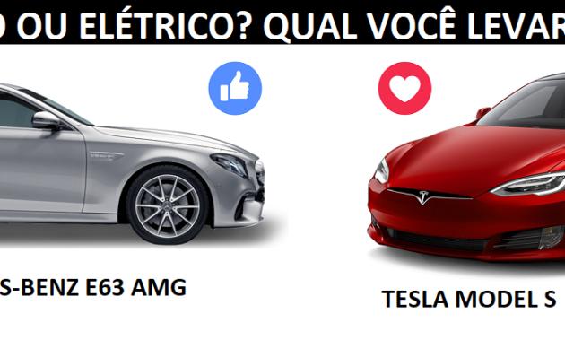 o que você prefere? V8 biturbo ou elétrico?