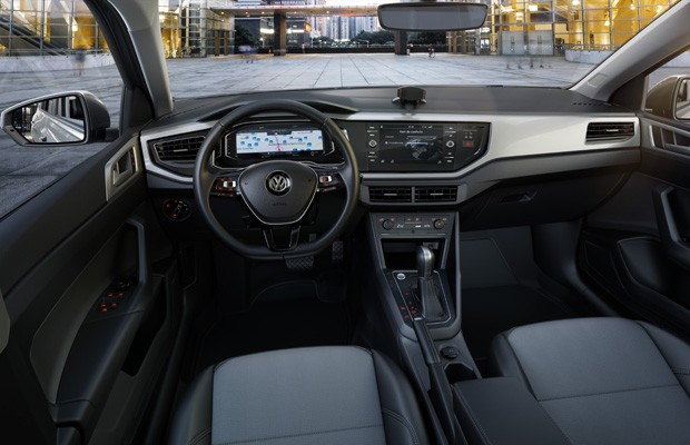 compra de carros entusiasta gearhead vw virtus interior
