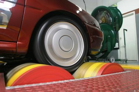 dinamômetro de rolo medir potência do carro