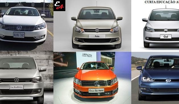 por que os carros da volkswagen são todos iguais?