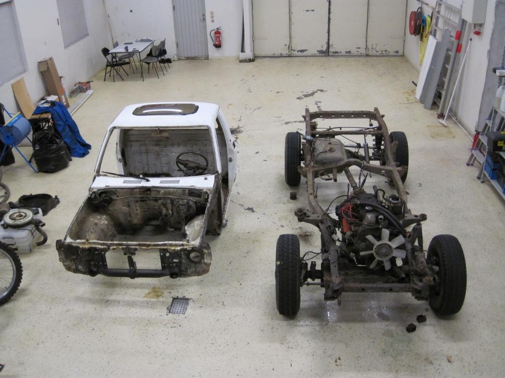 carroceria sobre chassis