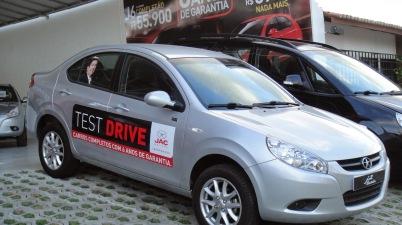 jac j3 test drive