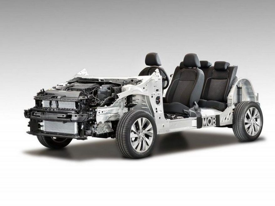 plataforma vw mqb tipos de chassis