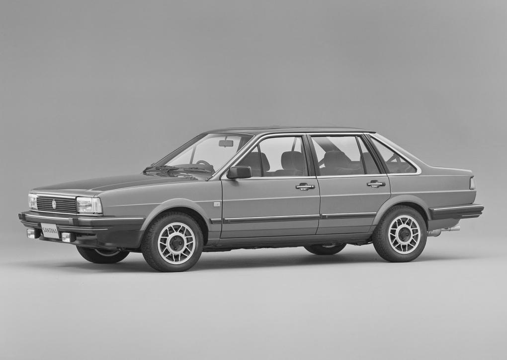 aerodinâmica vw santana 1984