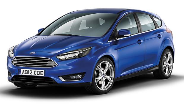 Ford Focus Mk3 crash test