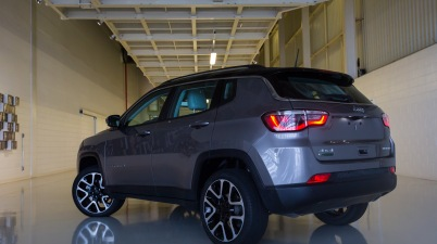 jeep compass nota crash test
