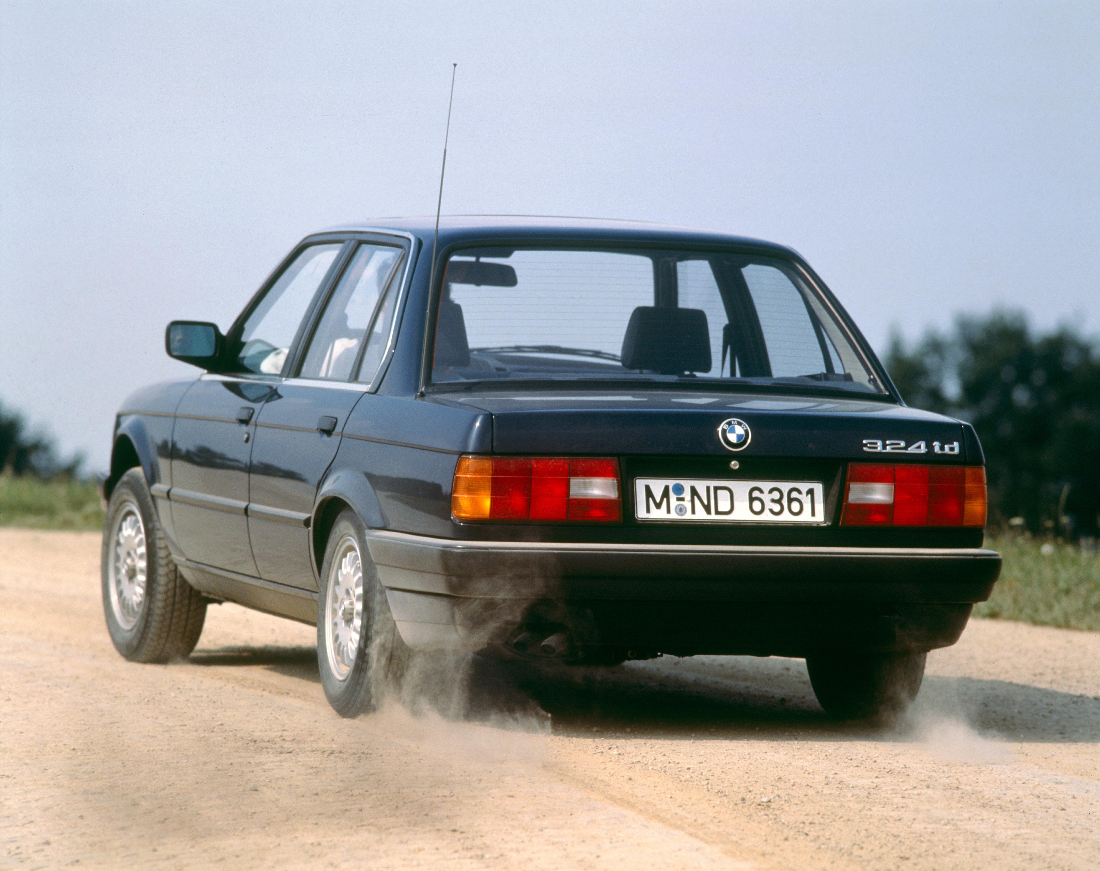 BMW anos 80