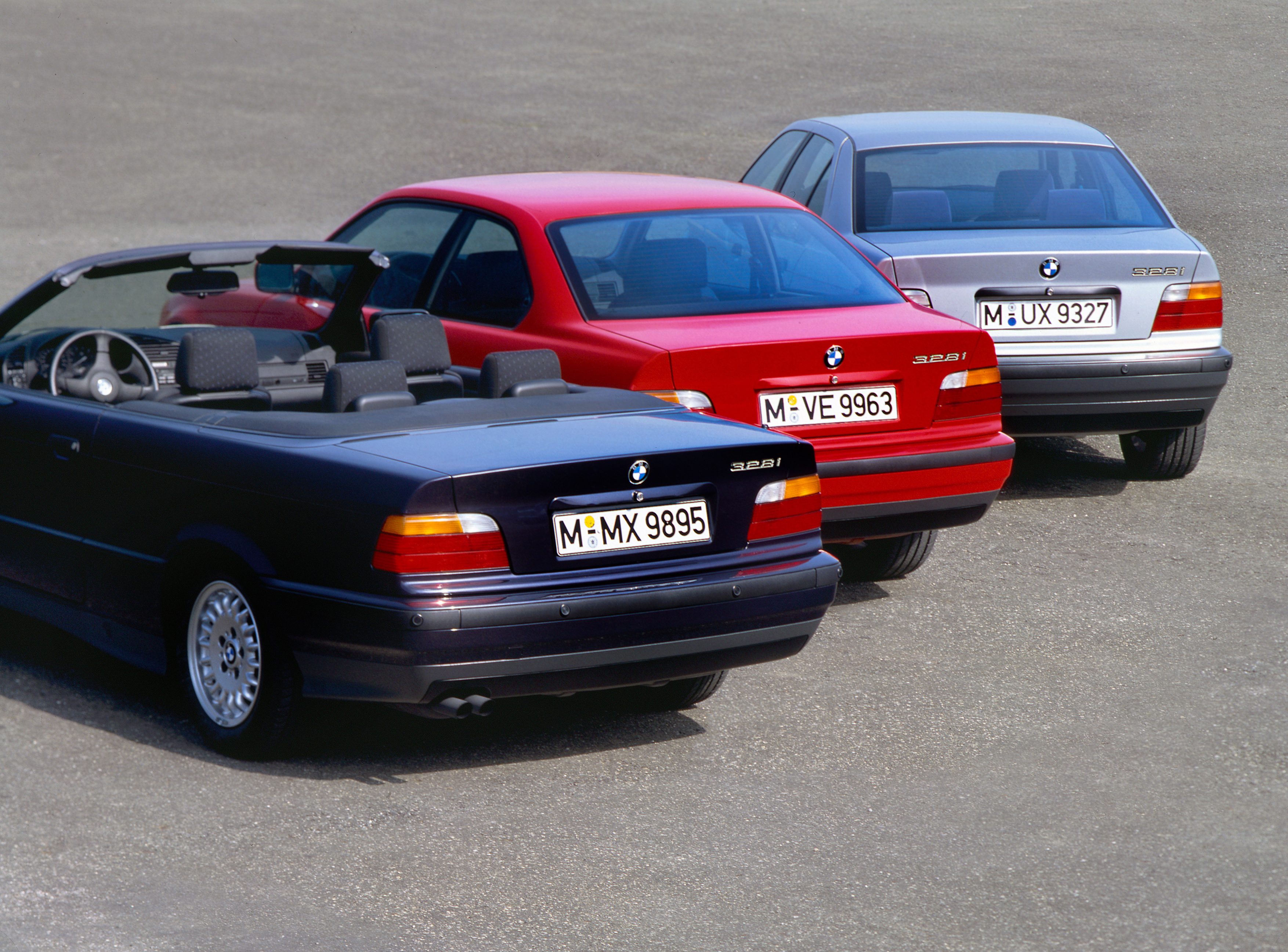 BMW Série 3 E36 conversível