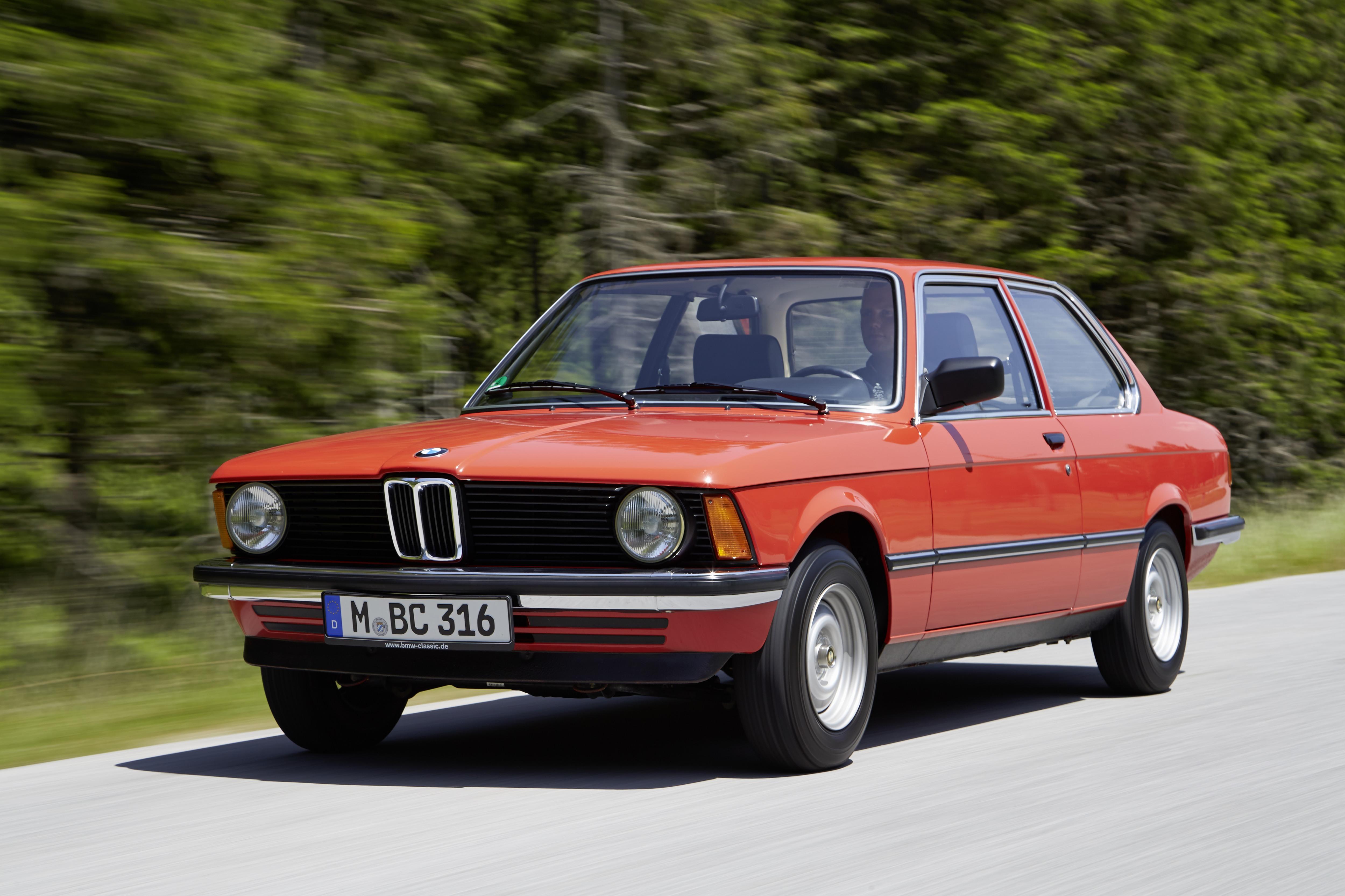 primeira BMW Série 3 1975