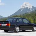 BMW Série 3 clássica alpes suíços