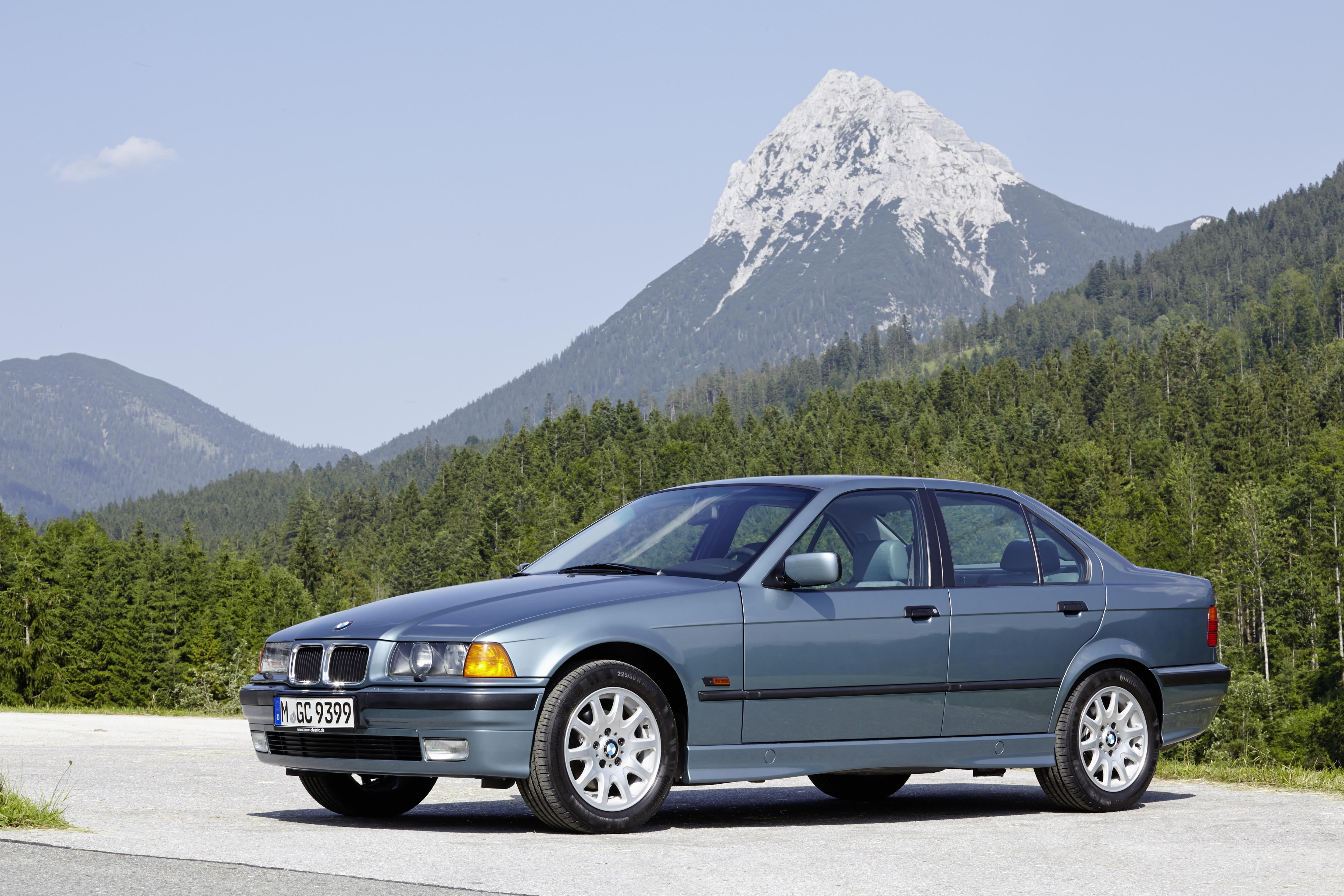 BMW Série 3 E36 alpes suíços