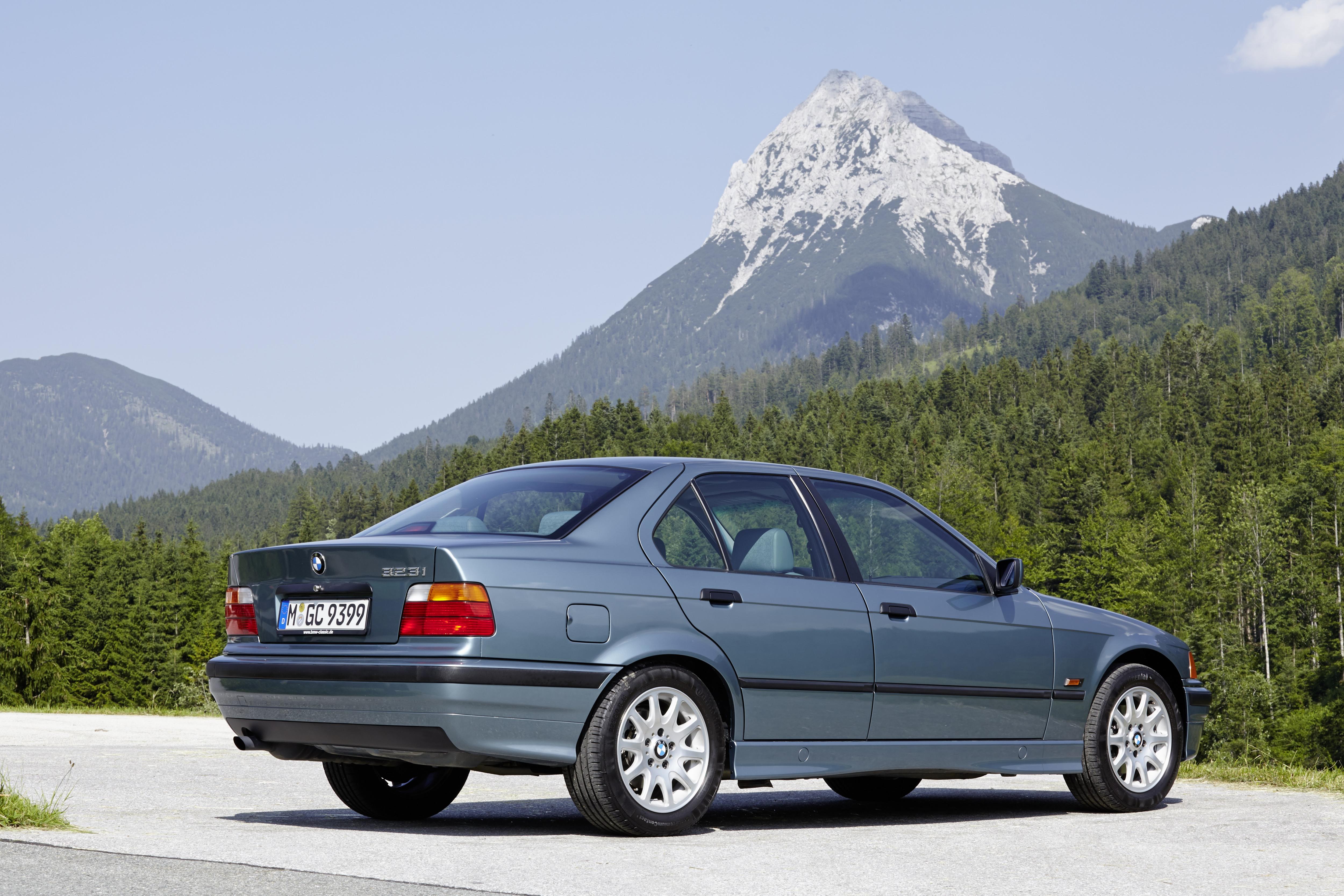 BMW 328i E36 alpes suíços