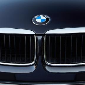 grade dianteira da BMW duplo rim
