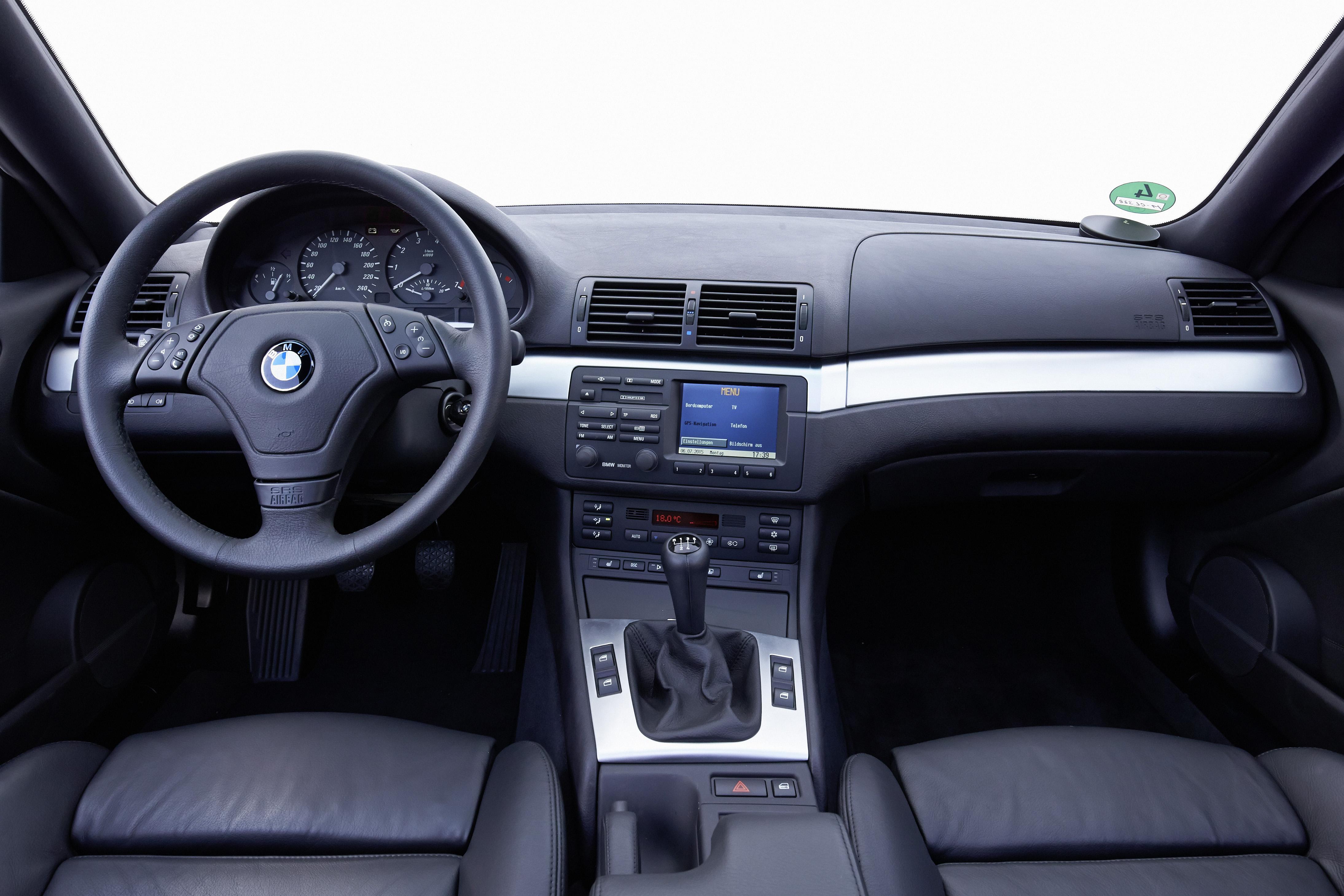 BMW Série 3 E46 interior