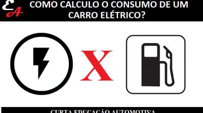 CALCULAR CONSUMO CARRO ELÉTRICO