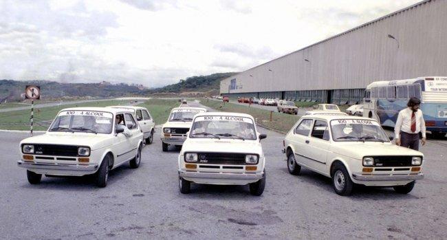 Fiat 147 primeiro carro a álcool
