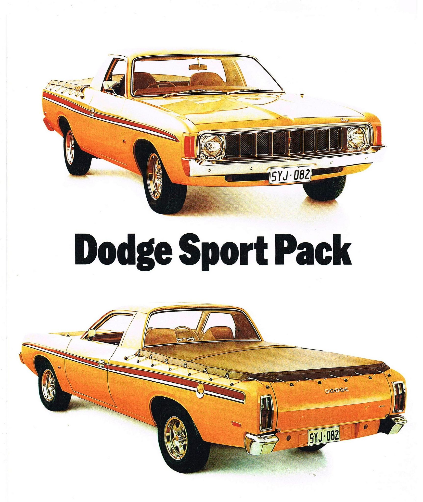 Ute Dodge Sport Pack
